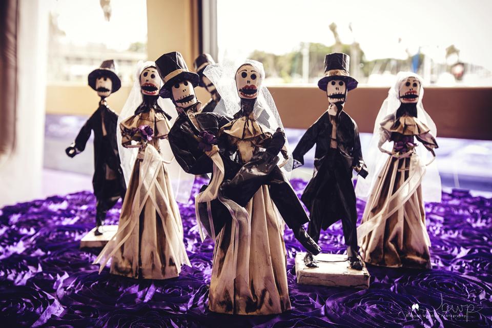 Day of the dead wedding san diego