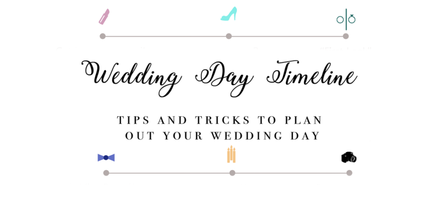 How to design your wedding day timeline by Los Angeles, CA Wedding Photographers