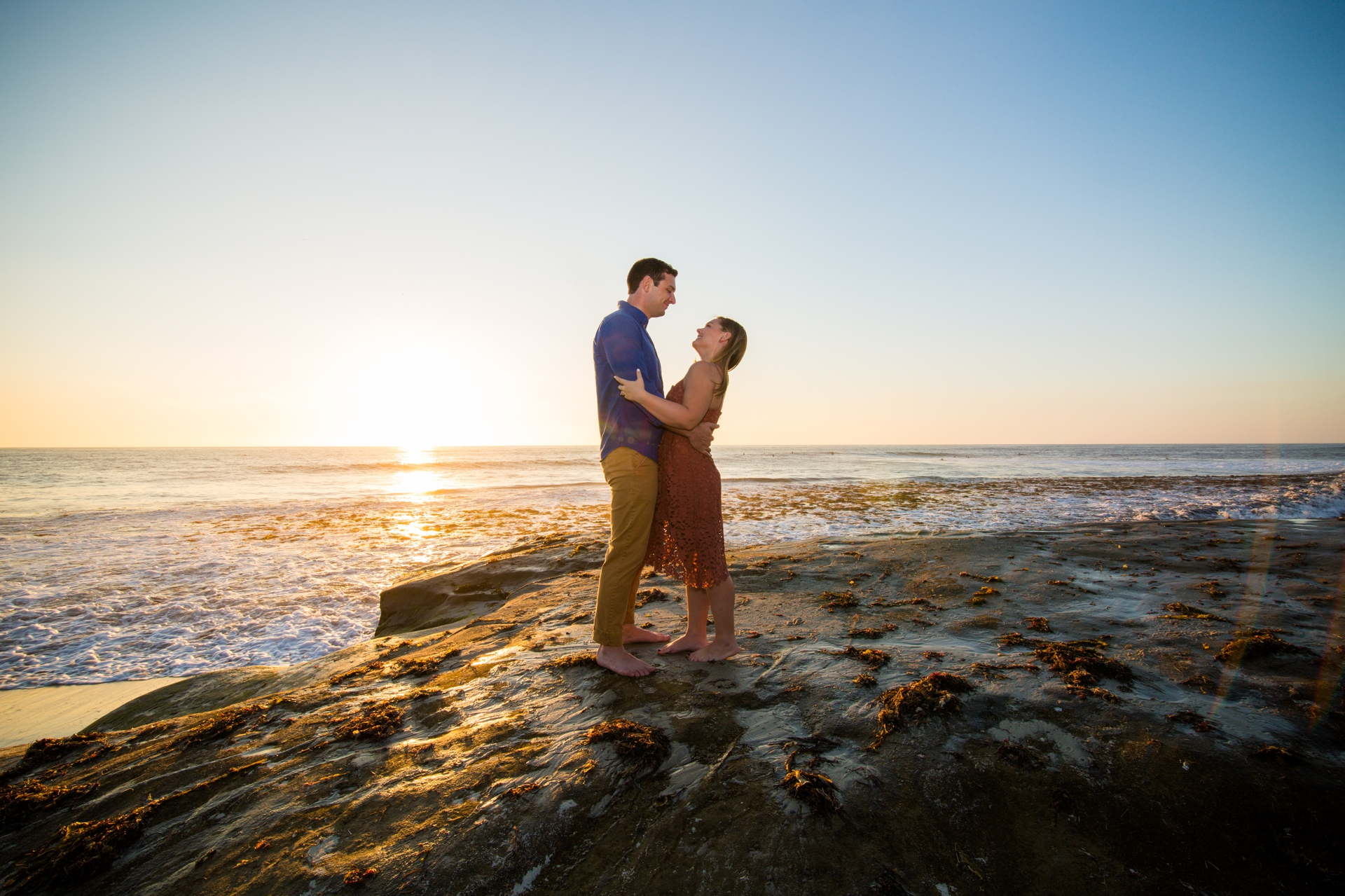 Windansea Beach Engagement Session by La Jolla Engagement Photographers