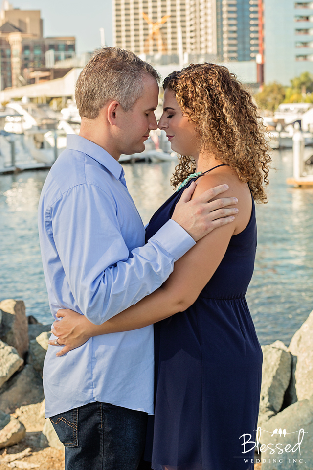 Engagement Photographer in Seaport Village