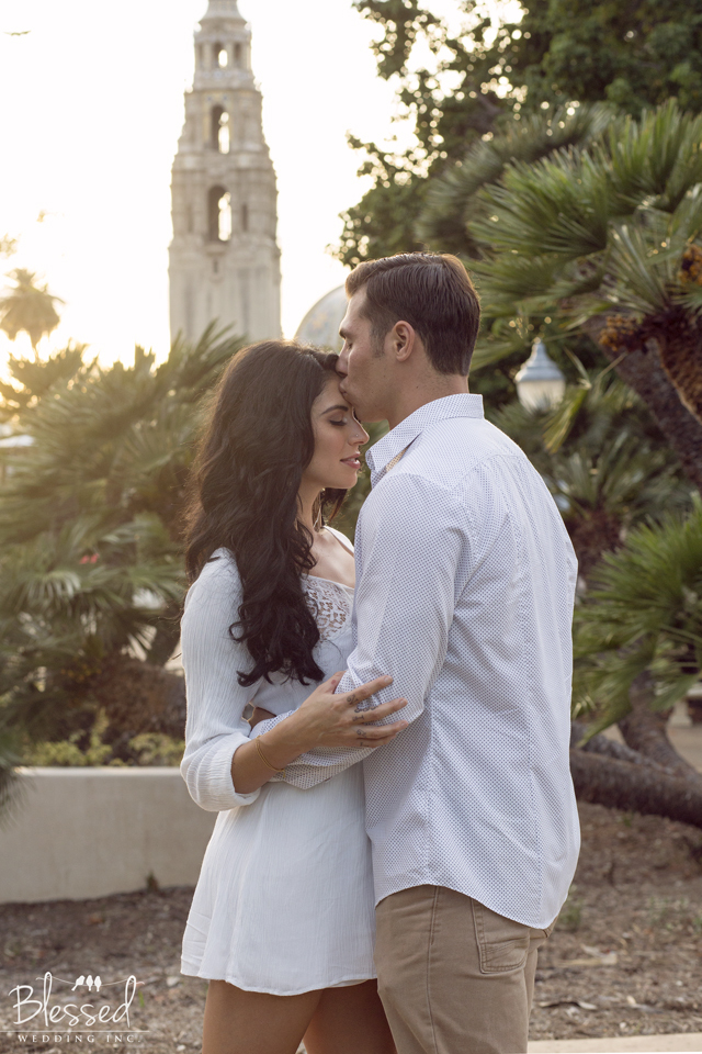 Engagement photography  in Balboa Park
