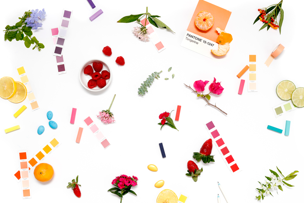 Coordinating your wedding day colors