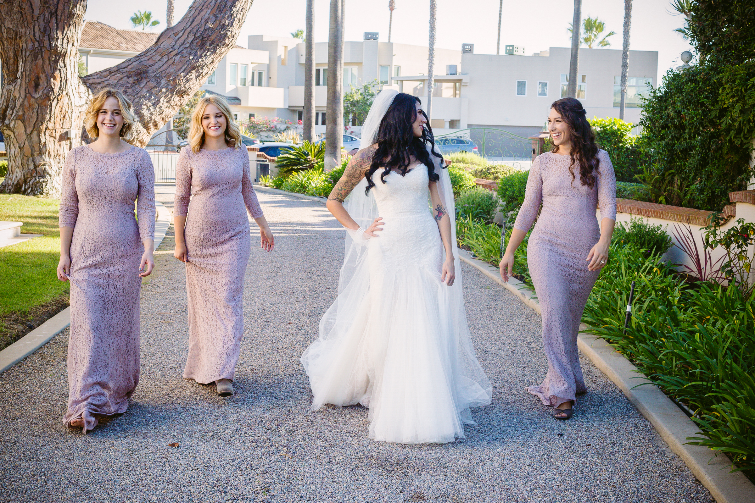 Bridal Party Pictures by San Diego Wedding Photographers