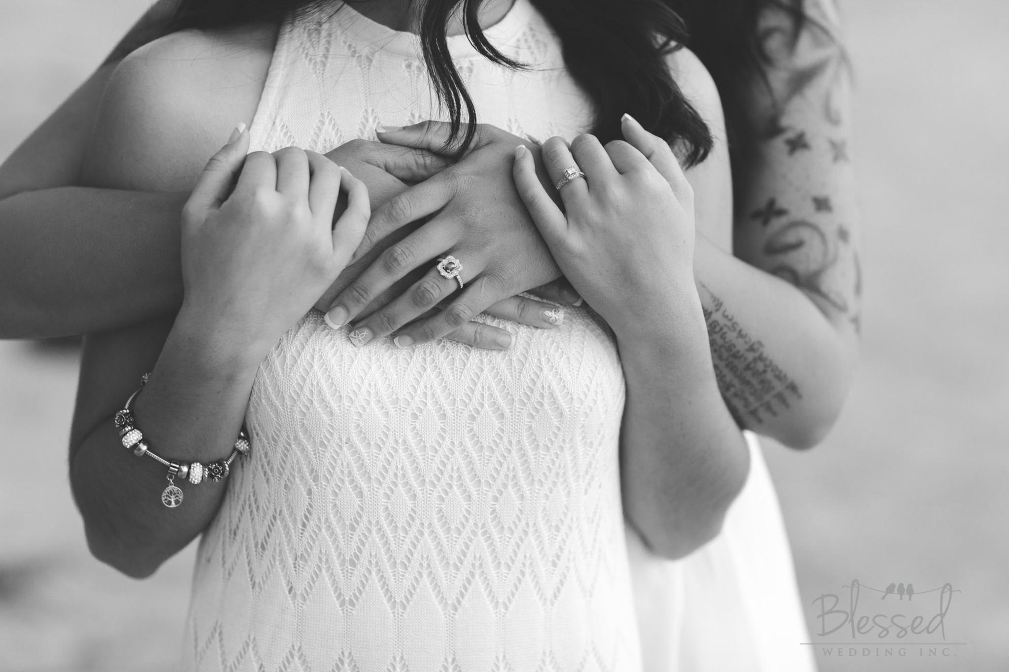La Jolla Beach Engagement Session by San Diego Wedding Photographers Blessed Wedding-56.jpg