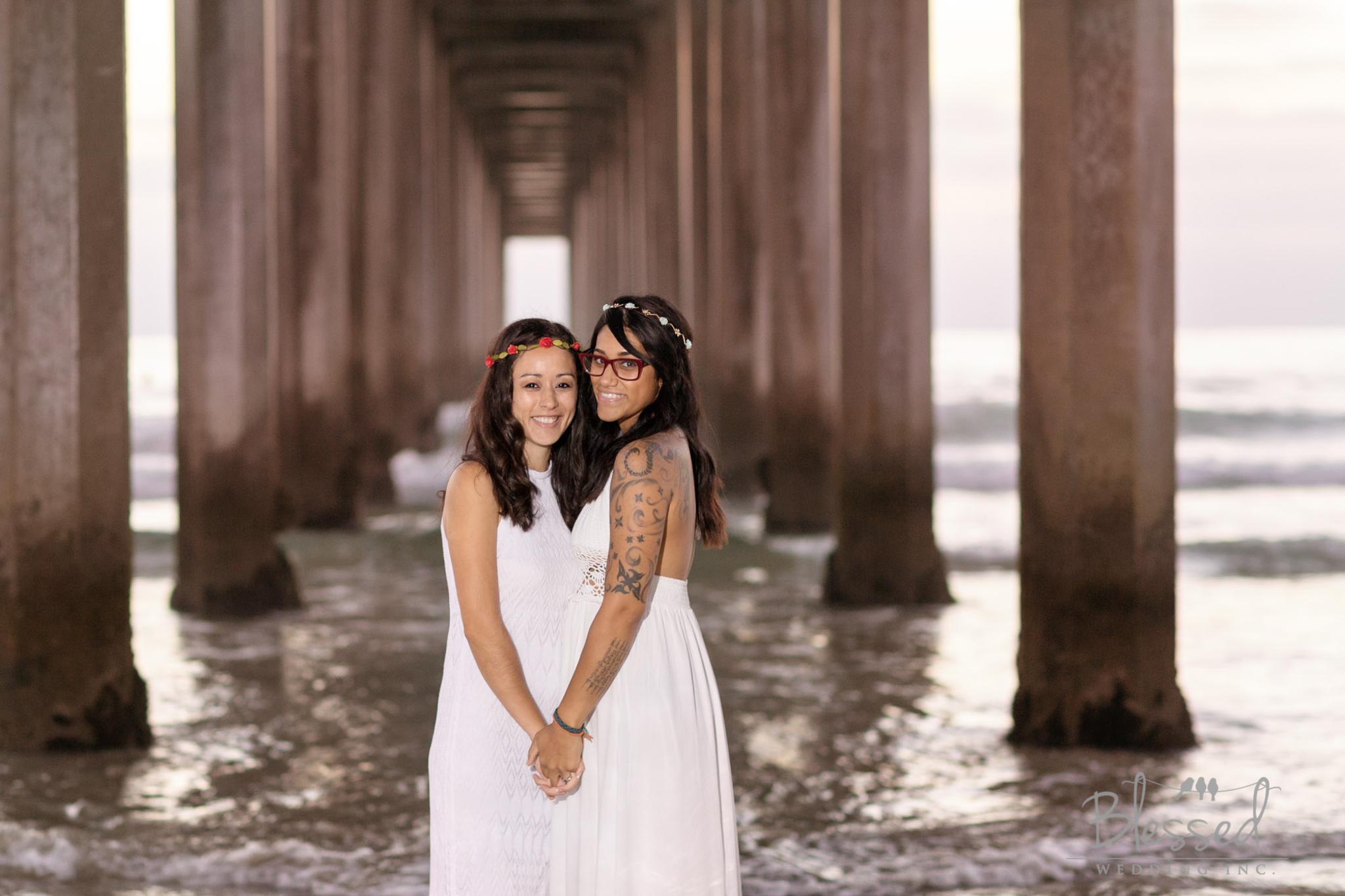 La Jolla Beach Engagement Session by San Diego Wedding Photographers Blessed Wedding-58.jpg