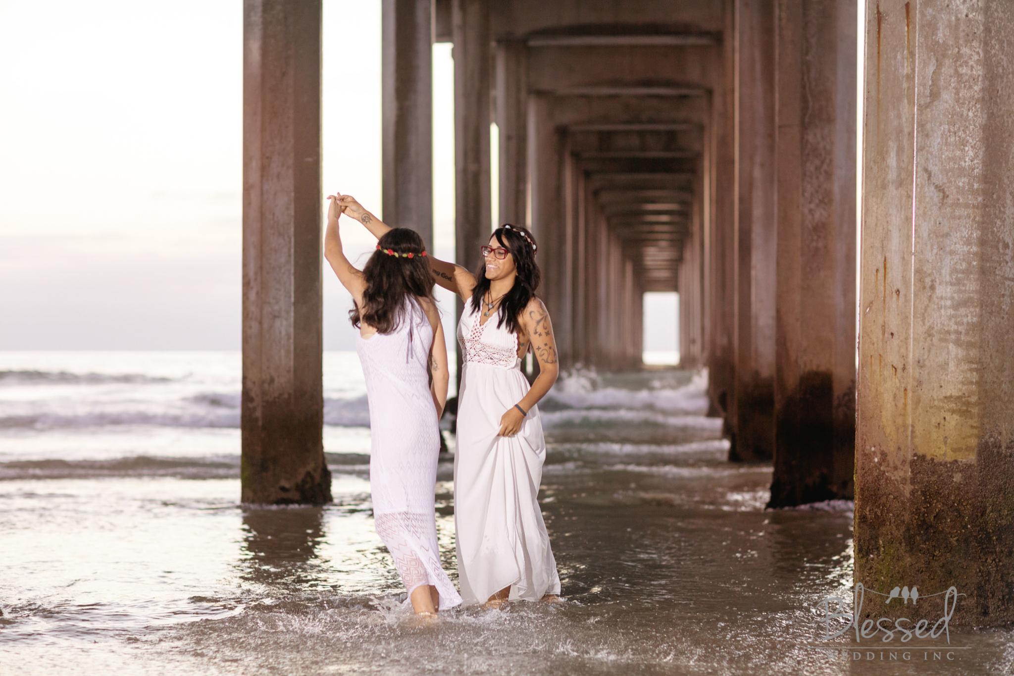La Jolla Beach Engagement Session by San Diego Wedding Photographers Blessed Wedding-59.jpg