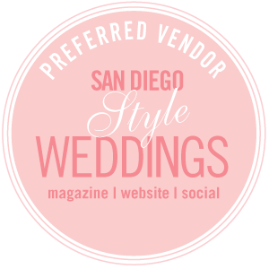San Diego Preferred Wedding Vendor