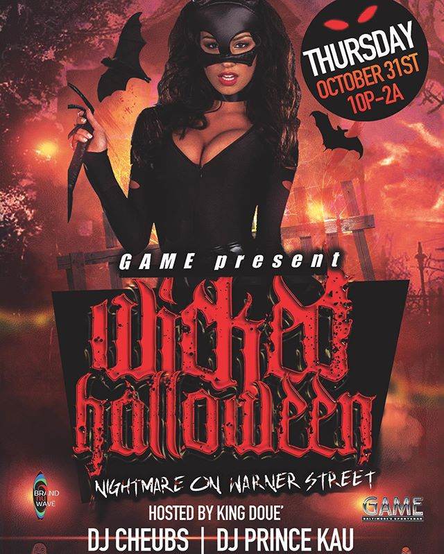 Halloween's Biggest Party is at Game Baltimore!