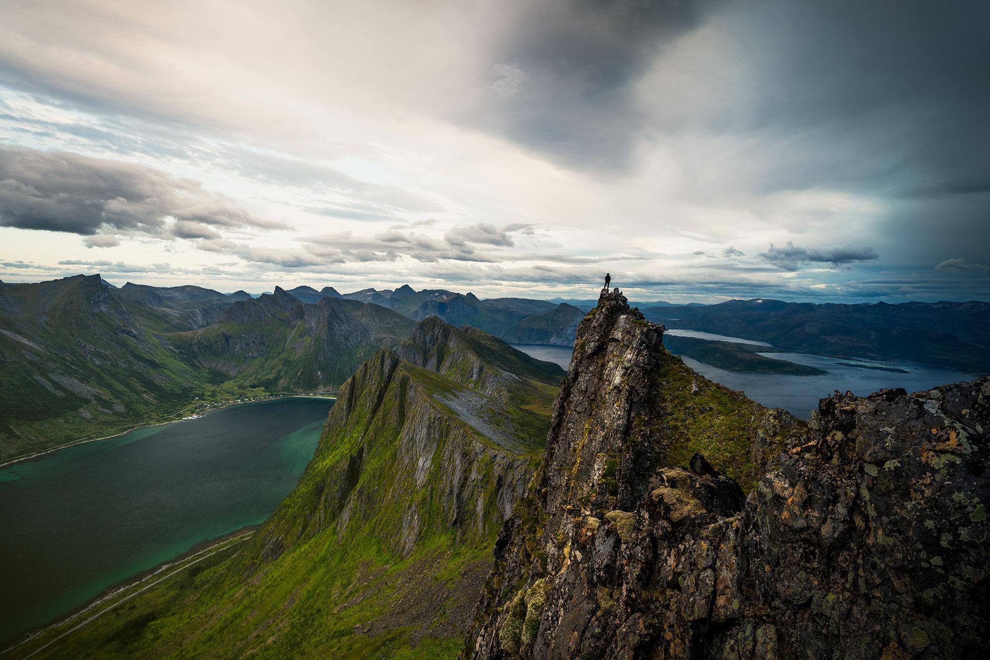 Husfjellet Norway senja island