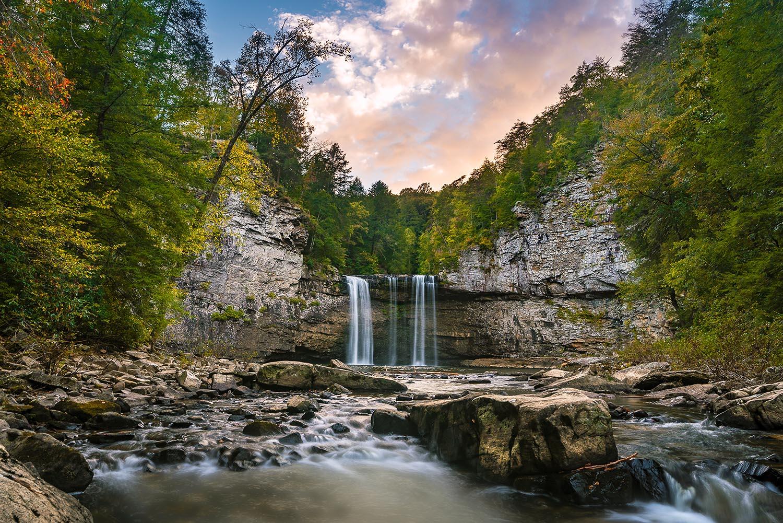 cane creek falls fall creek falls state park Tennessee