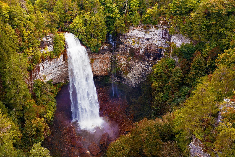 fall creek falls state park Tennessee autumn