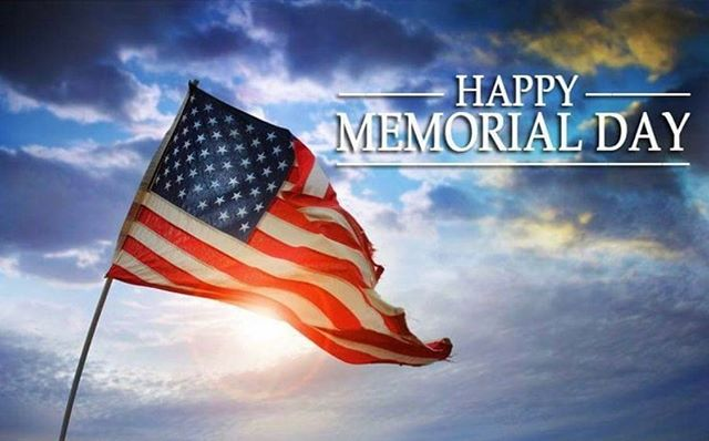 We will be closed Saturday May 25th in honor of Memorial Day! 🇺🇸 Have a great and safe weekend!! 😁