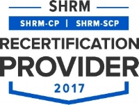 Our programs are approved by SHRM for PDC's