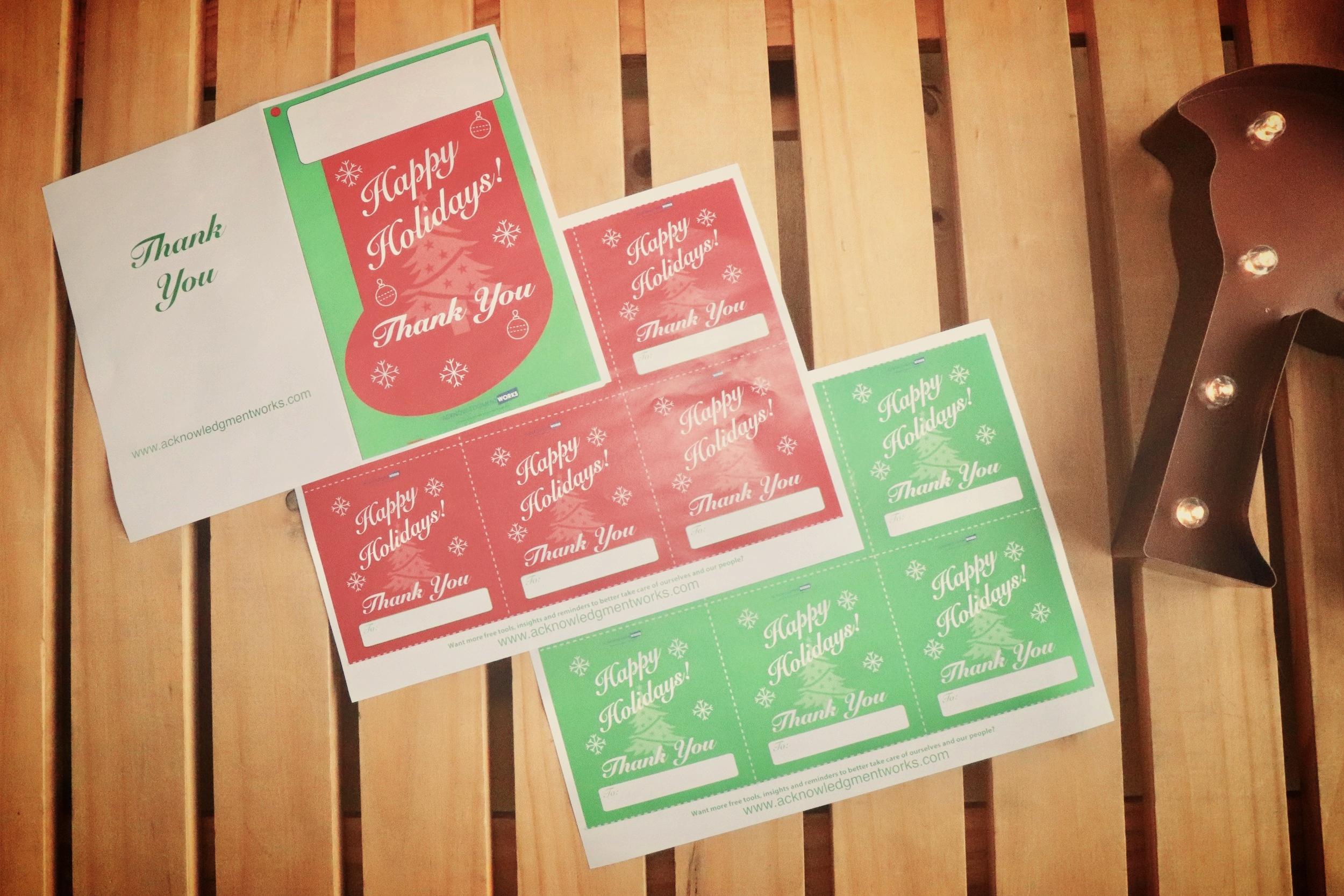 The Employee Appreciation Holiday Activity Handouts - (Plus 11+ Simple & Fun Holiday Party Activity Ideas)Download Below