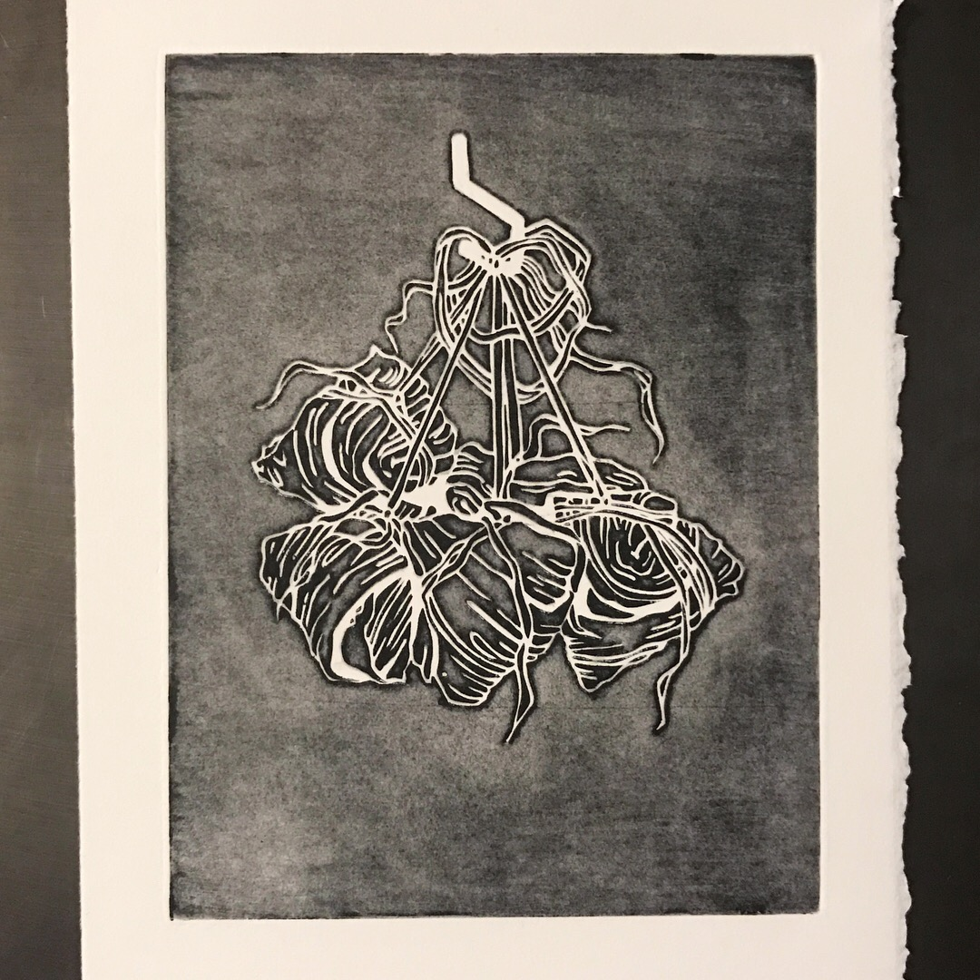 A Day's Work Of Labor and Love: Zhong Zhi Print