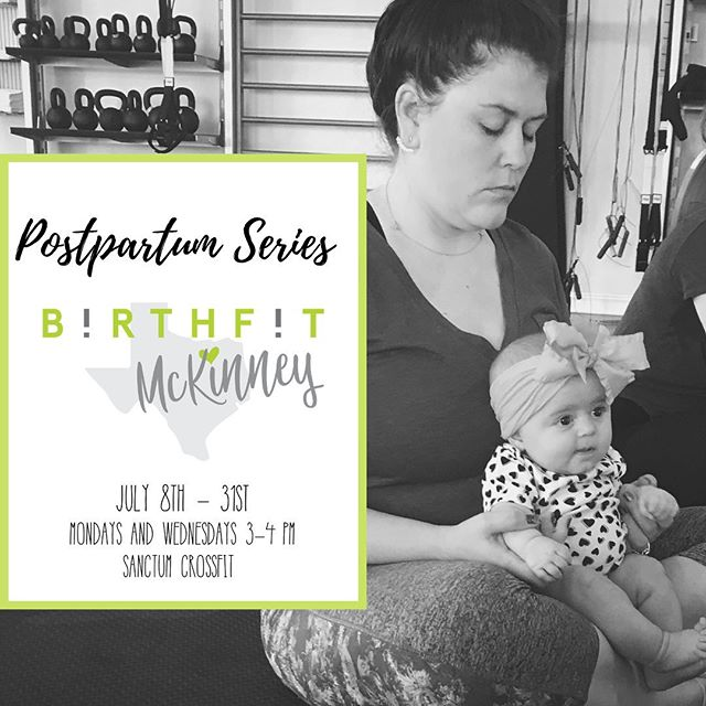 """From the wise words of @birthfit_nc """"Do you require intentional healing postpartum? Unequivocally yes!"""" . Come join us in our upcoming @birthfit Postpartum Series! .  Use the link in our bio to register!"""