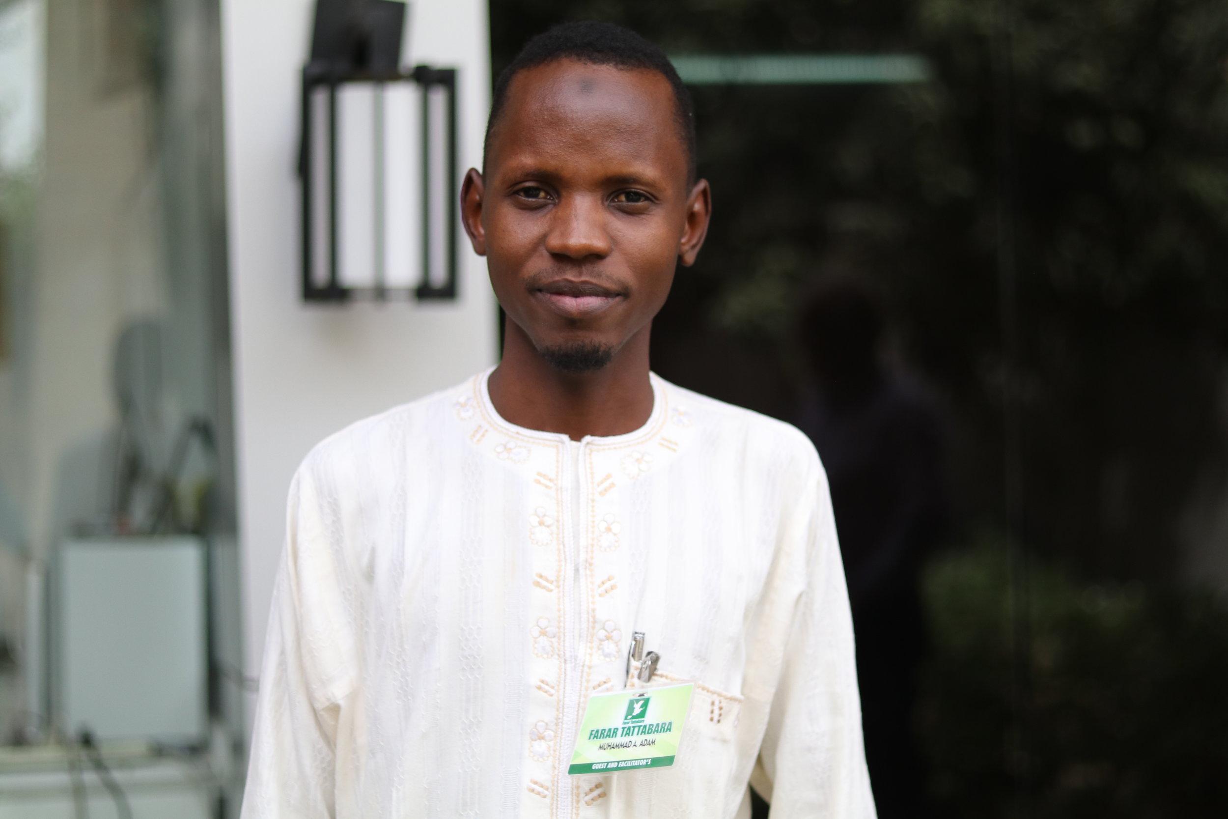 Muhammad Adam Tudun-Murtala  Position: Technical Officer/Producer