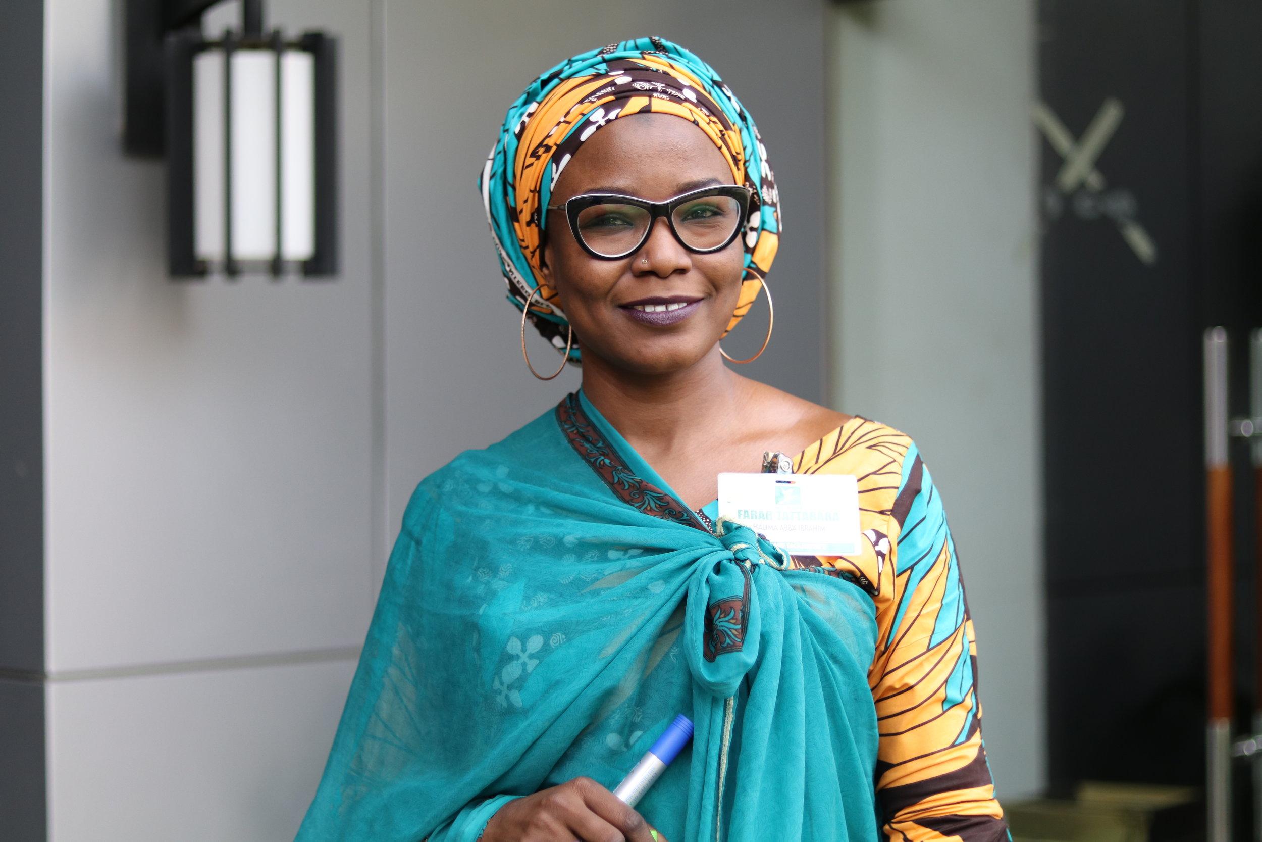 Halima Abba Ibrahim  Position: Technical Officer/Producer