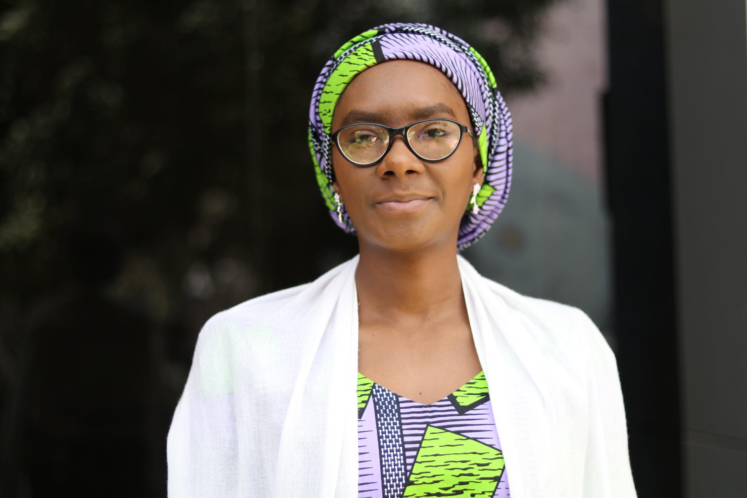 Fatima Turaki Ibrahim  Position: Research & Communication officer