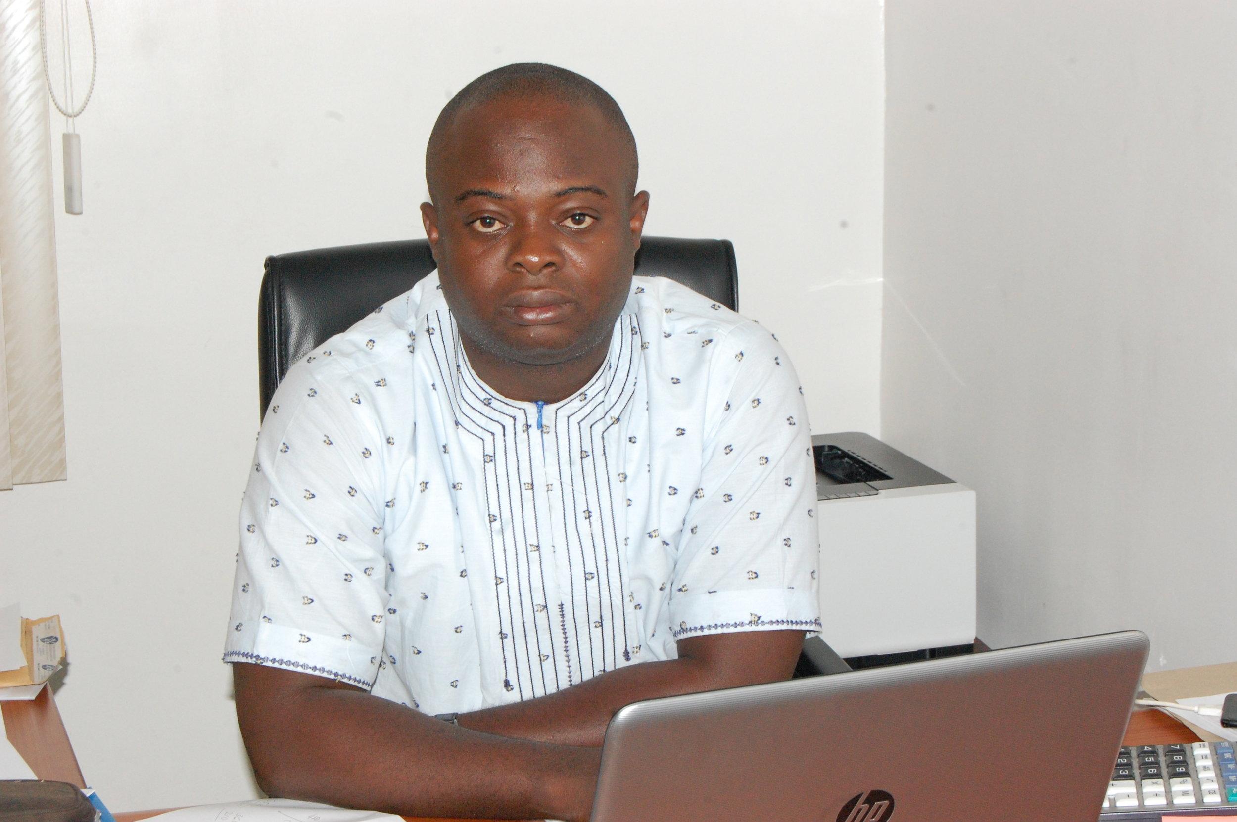 Akogwu Chris Akogwu  Position: finance/Admin Manager