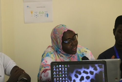 Fayda Yahya she is one of the female attendee