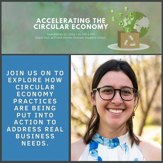 Carolina Thrift is sponsoring the Accelerating the Circular Economy event on September 13! We are very proud of our Sustainability chair, Allie, for helping organize this super cool event that will have panelists and speakers from a multitude of backgrounds in both the public and private sector 🙌 You can find at more information on the @acceleratingcircular account 🤗🌍