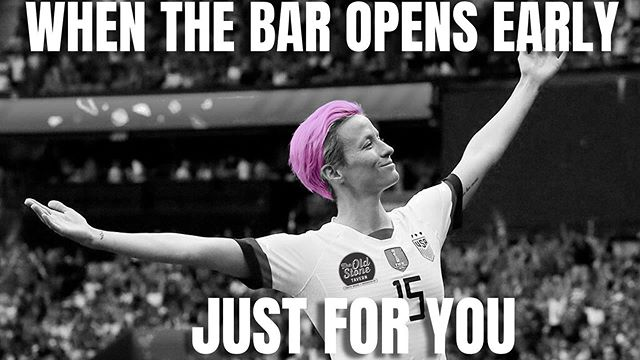 We're opening up early on Sunday for the World Cup finals!!! We will be open at 10AM with all of our TV's tuned in to watch USA vs Netherlands. Come in for some brunch and help us cheer on the USWNT! 🇺🇸 ⚽️ ❤️ 🍻 #theoldstonetavern #uswnt #worldcupfinals #oldstonetavernroc #rochesterbrunch #meganrapinoe #usa #usawomenssoccer #usawomenrock #rochesterny #rochesternyworldcupfinals #doorsopenearly #rocfood #rochesternylatenightfood #southwedge #southwedgerochester #southwedgerochesterny #southwedgebar #rochesternybarscene