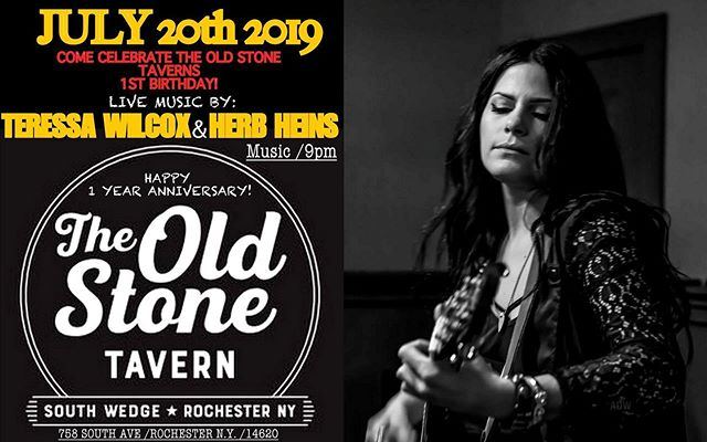 We're gearing up for our first birthday party on July 20th! Live music by Teressa Wilcox and Herb Hines starts at 9pm.  We will be posting our birthday drink specials soon. Come celebrate The Old Stone Tavern's amazing first year! #theoldstonetavern #oldstone #OST #southwedge #southwedgerochesterny #livemusic #livemusicrochesterny #latenightfood #roclatenightfood #rochesternybars #rochesternywings #bestwings #bestwingsroc #firstbirthdayparty #firstanniversary #weloveourcustomers