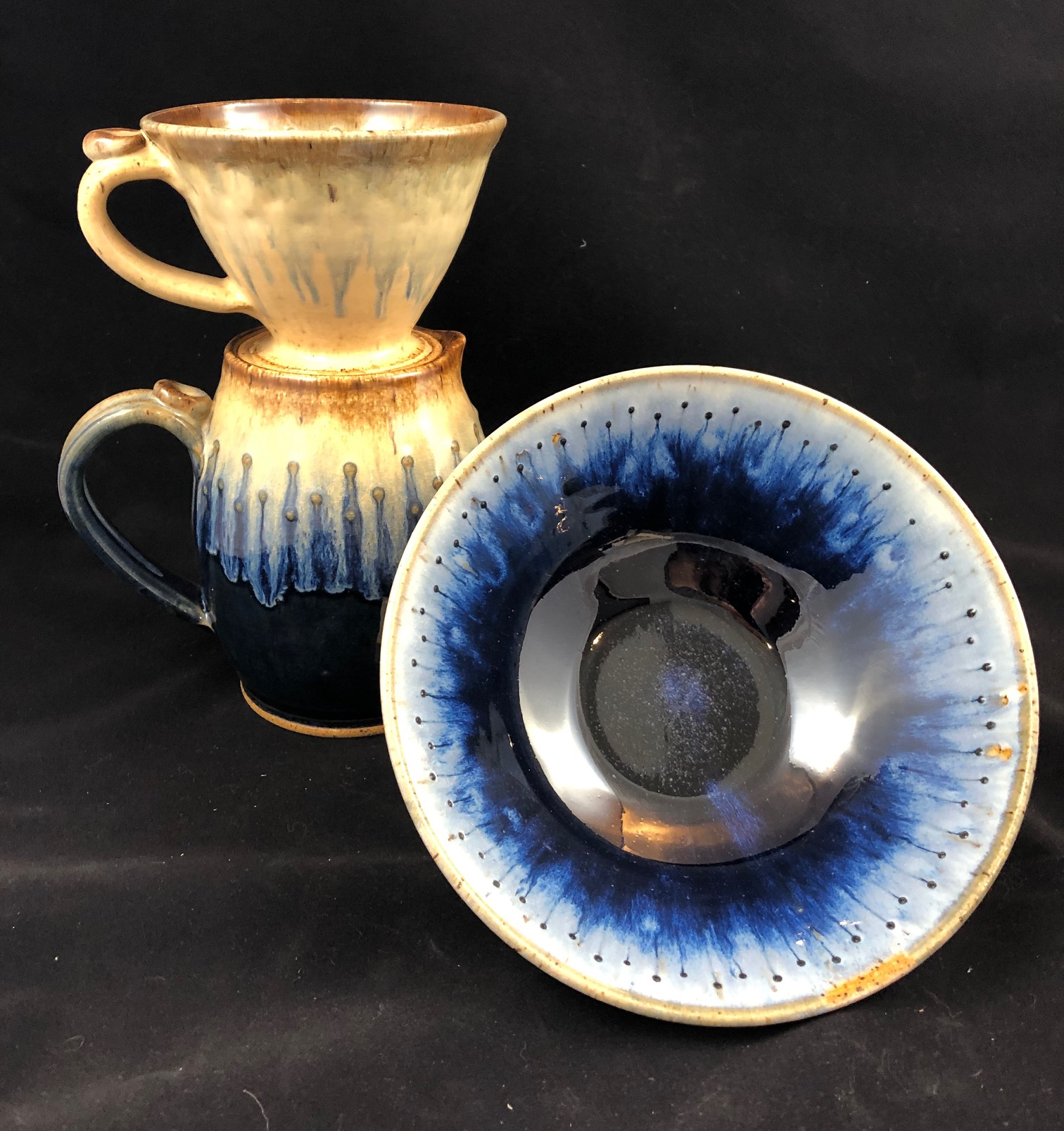 Mary anderson &Leslie Howland - Functional Stoneware Potterypotter@ptd.net