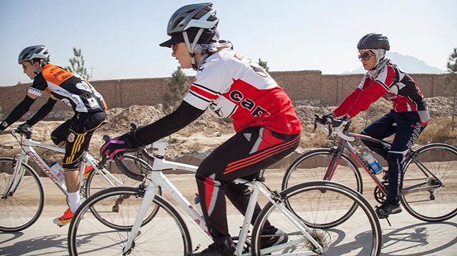 Have you heard? Afghan Cycles is available online - check out the link in our bio for the full list of countries where where you can see it. . #documentary #ondemand #film #cycling #genderequality #womensrights . Photo by @jennygnichols