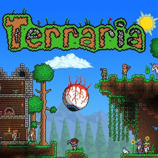 We are diving deeeeep into the heart of @terraria_pc_offical tonight! Grab your pickaxes and get ready to defend yourselves!!