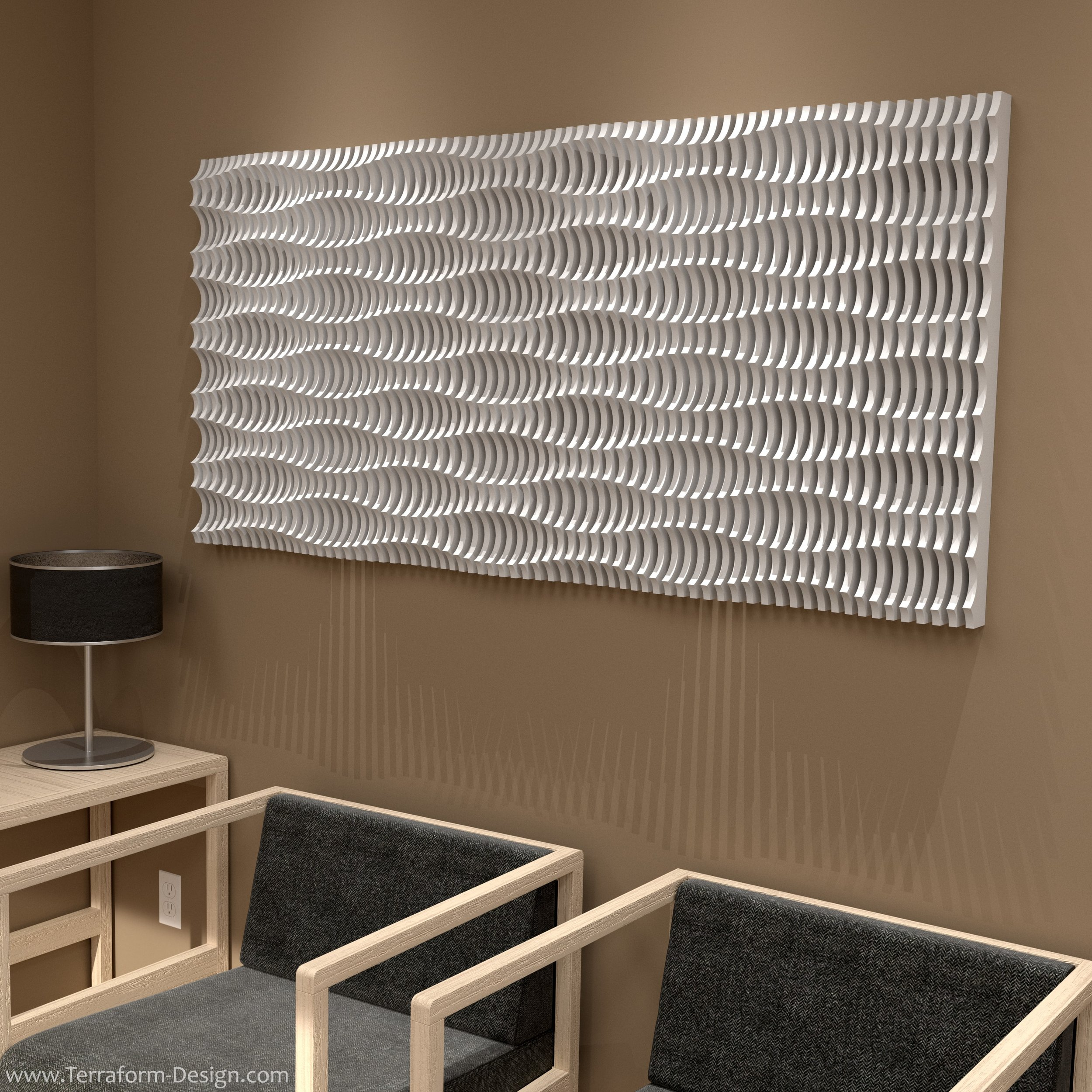 acoustic I_clnc_10W parametric cnc router postmodern sectioned organic geometric plywood wall fixture accent accessory wall decoration panel terraform design.jpg