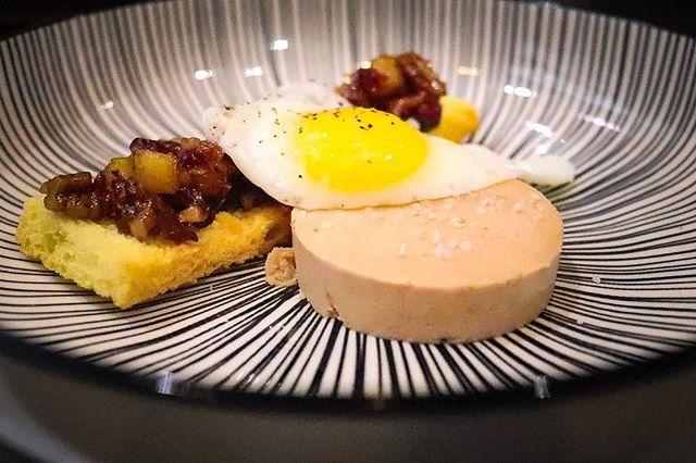 Cranberry Pecan Chutney | Toasted Brioche | Quail Egg | Foie Gras Torchon . . . . . . #foodporn #chef #passion #myroundplate #cheflife #idoitcauseiloveit #chefhatco #justcallmechef #chefstalk #MEEchef #chefstalkapp #deliciousness #truecooksstreetteam #truecooks #mecookmeeat #goodfood #plating #eatbermuda #justeat #bermychefs #thefeedfeed #foodstarz #wearebda #foodstagram @bermyfoodguyjae @chefraeven