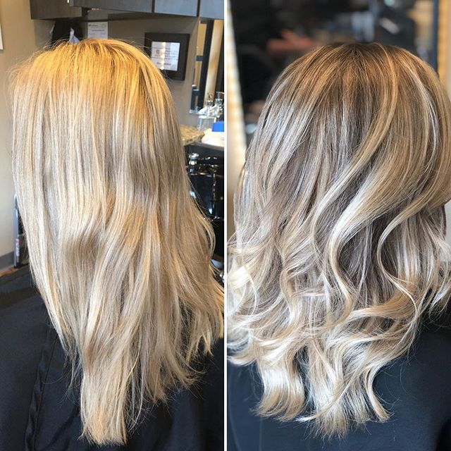 Do you see what I see?! Blended, soft, non brassy, easy grow out blonde hair. Gone are the days of retouching an all over blonde every 6 weeks 🙌🙌 #sunlightsbalayage @sunlightsbalayage #redkenshadeseq #olaplex #olaplextreatment @olaplex #balayage #showmethebalayage #blondebalayage #blend #balayagemasters #modernsalon #behindthechair #minneapolishairstylist #minneapolishair #lexiedoeshair