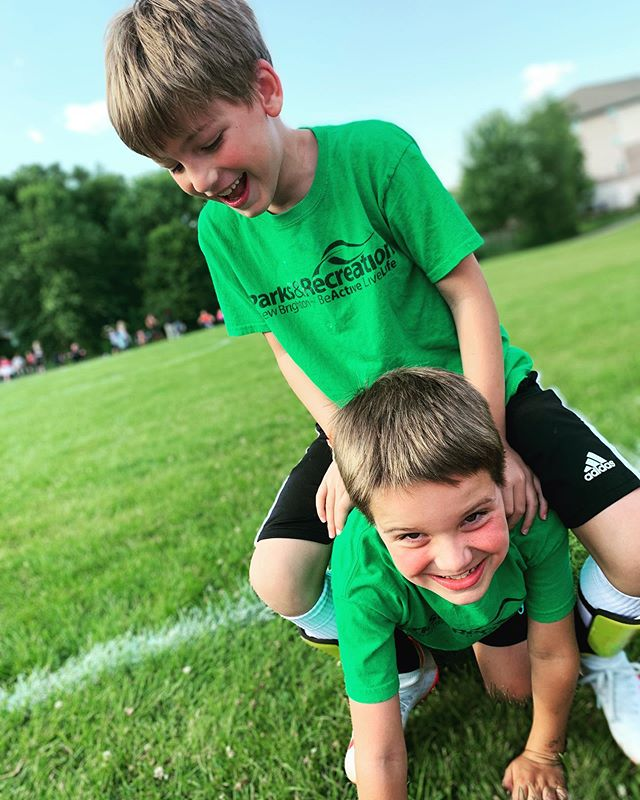 Last soccer game! Louis has had the best time with his bestie. ⚽️⚽️⚽️