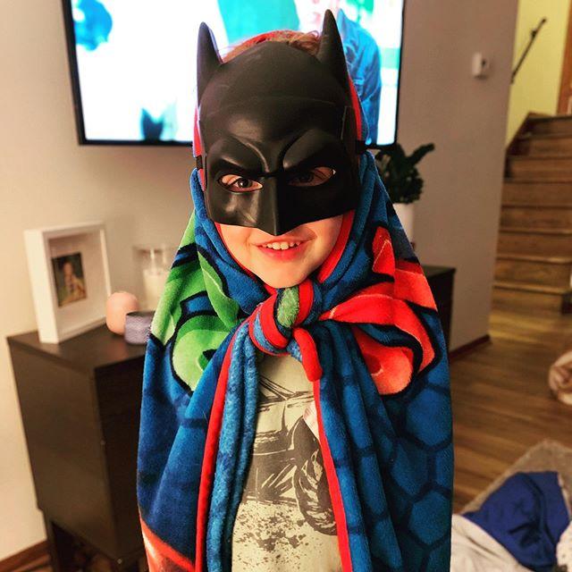 Batman obsession takes an unusual turn😬.