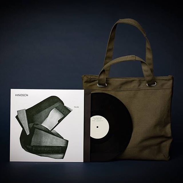 """YODATAL Record bag comes with an exclusive 12"""" Viny EP by HINOSCH. #yodatal#tal#hinosch#music #pmcmusic #record #totebag #germany #tokyo#nakameguro"""