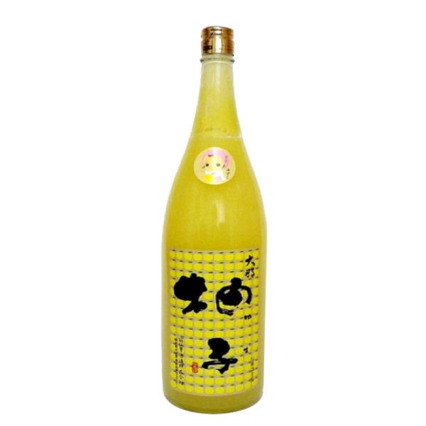 """KIKU NO SATO """"YUZUKO"""" Liqueur di Yuzu 10% 720ml"""