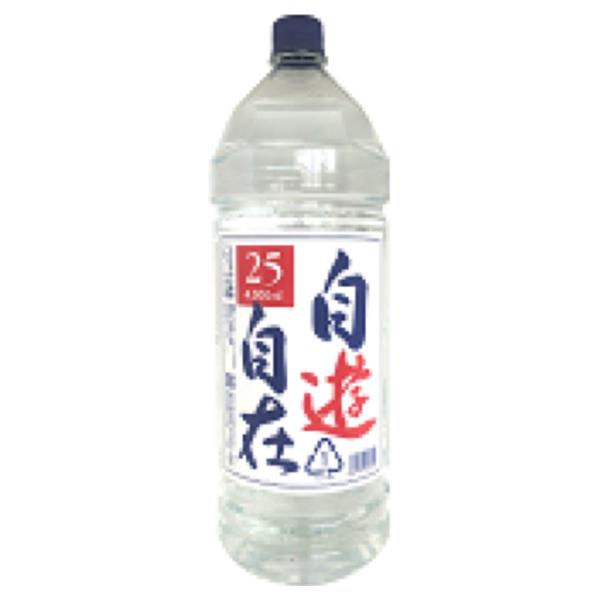"""FUKUI """"JIYU JIZAI"""" Double Distilled Shochu 25% 4000ml"""
