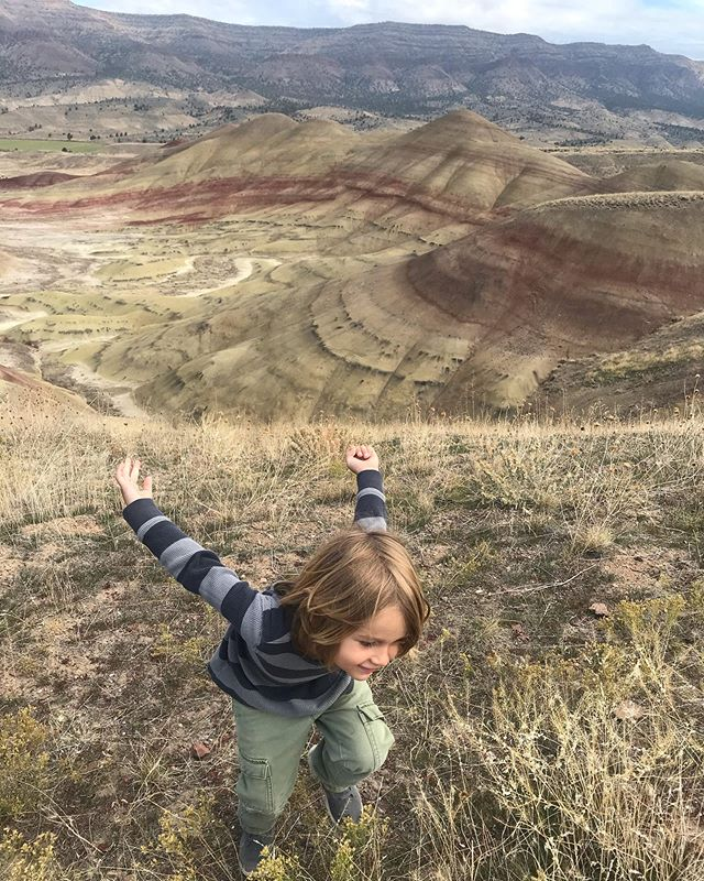 How beautiful nature can be.  We had so much fun exploring the different trails at Painted Hills and picking out our favorite colors. #life_adventuring #centraloregon #centraloregonlife #optoutside #adventureswithkids #explorenature #paintedhills #johnday #happyplace #outdoorlife #boymom #brothers #bestfriendsforlife #thatoregonlife #bendmom
