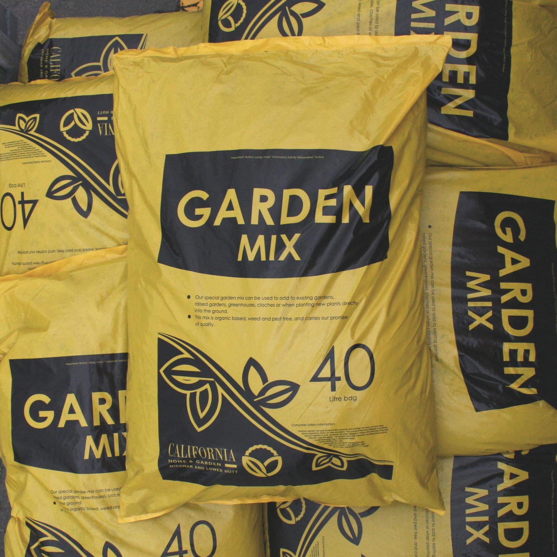 California Garden Mix 40L3 for $27 -
