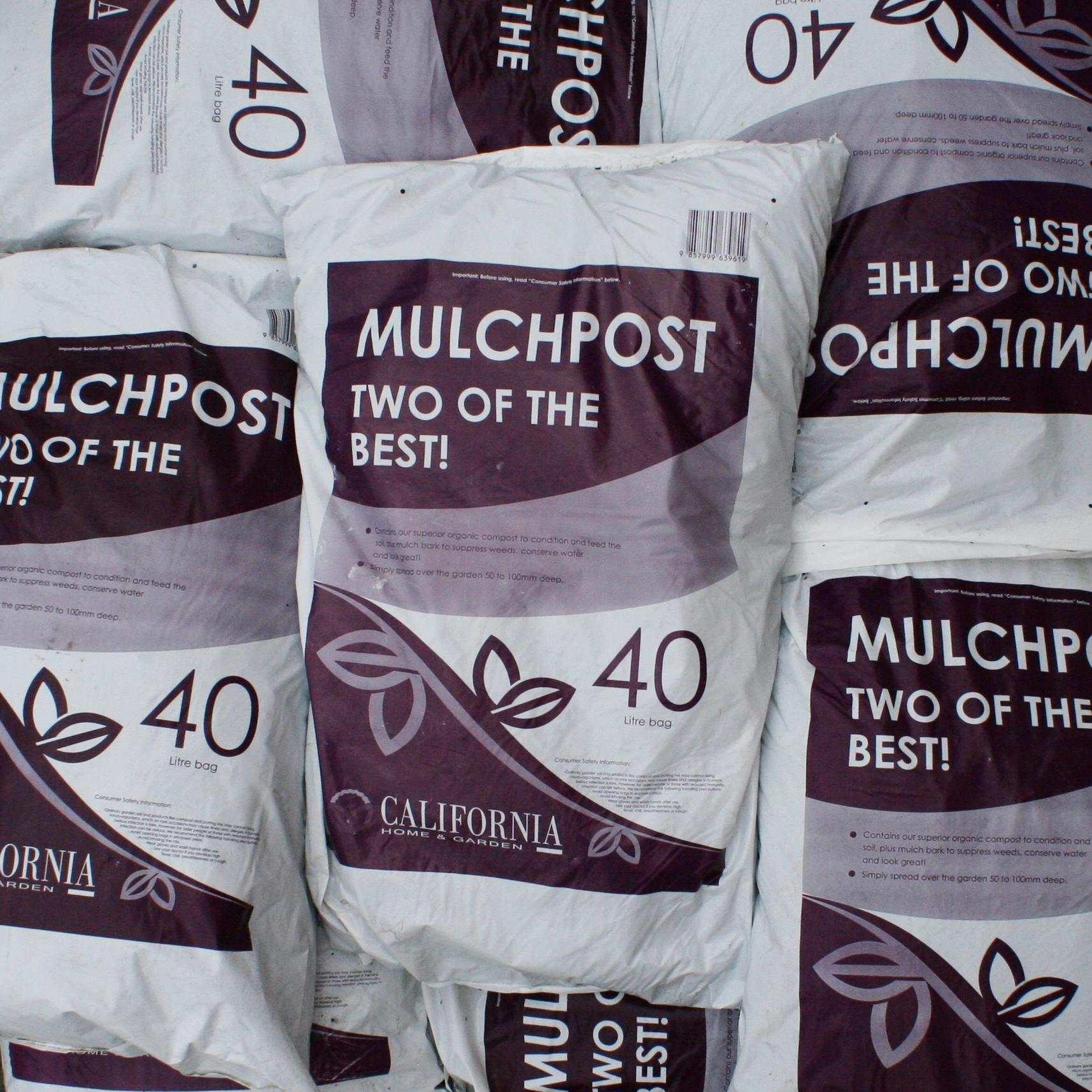 California Mulchpost 40L3 for $30 -