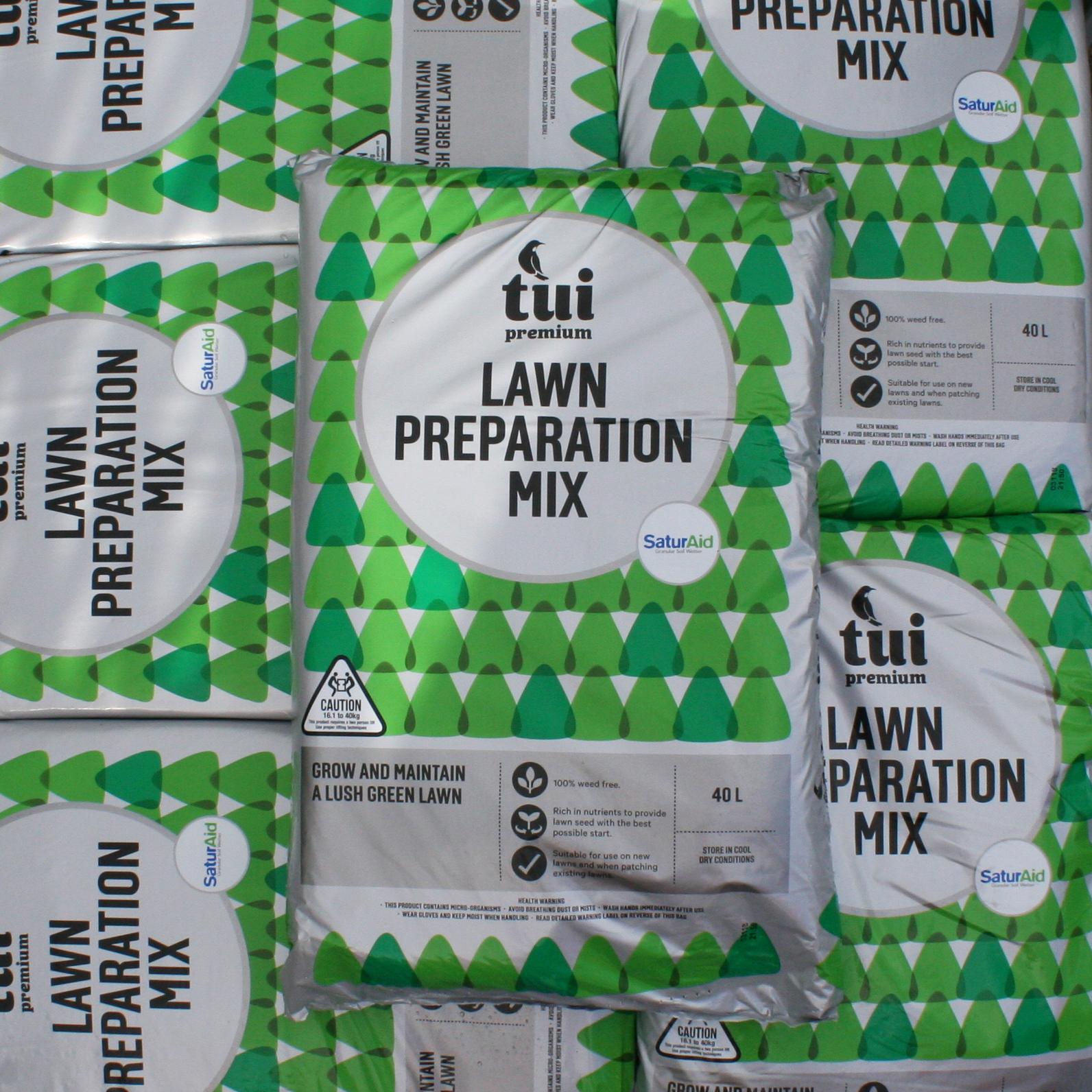 Tui Lawn Prep Mix 40L2 for $30 -