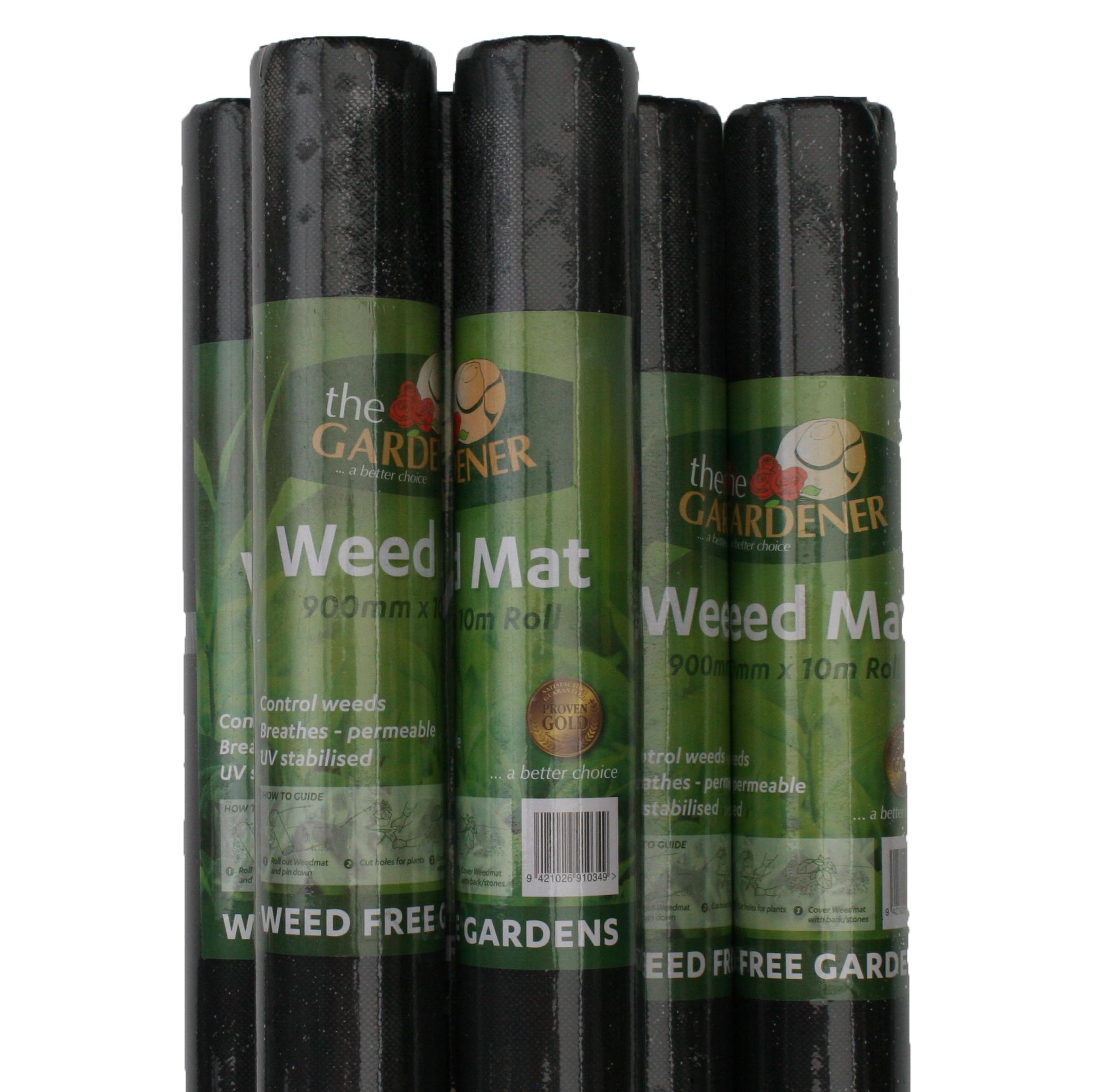 The Gardener Weedmat (0.9x10m)2 for $20 -