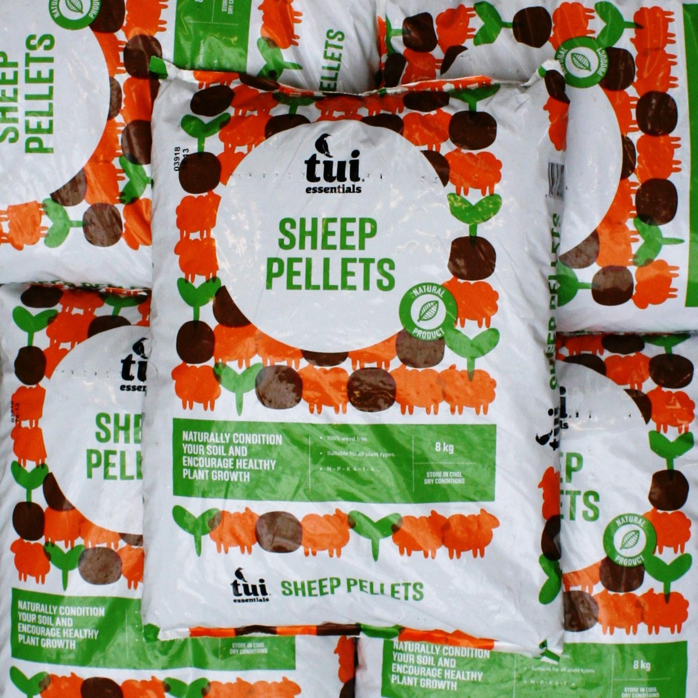 Tui Sheep Pellets 8kg2 for $26 -