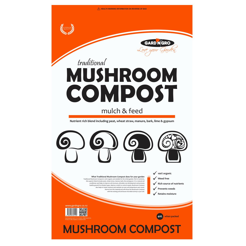 California Mushroom Compost 40L2 for $20 -