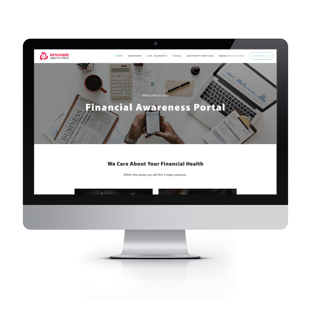 web portals - To maximise engagement in your employee benefits, it is essential to have all the information available to your employees in a one user-friendly, accessible place.We specialise in designing bespoke web portals to be the central hub of your communications strategy.