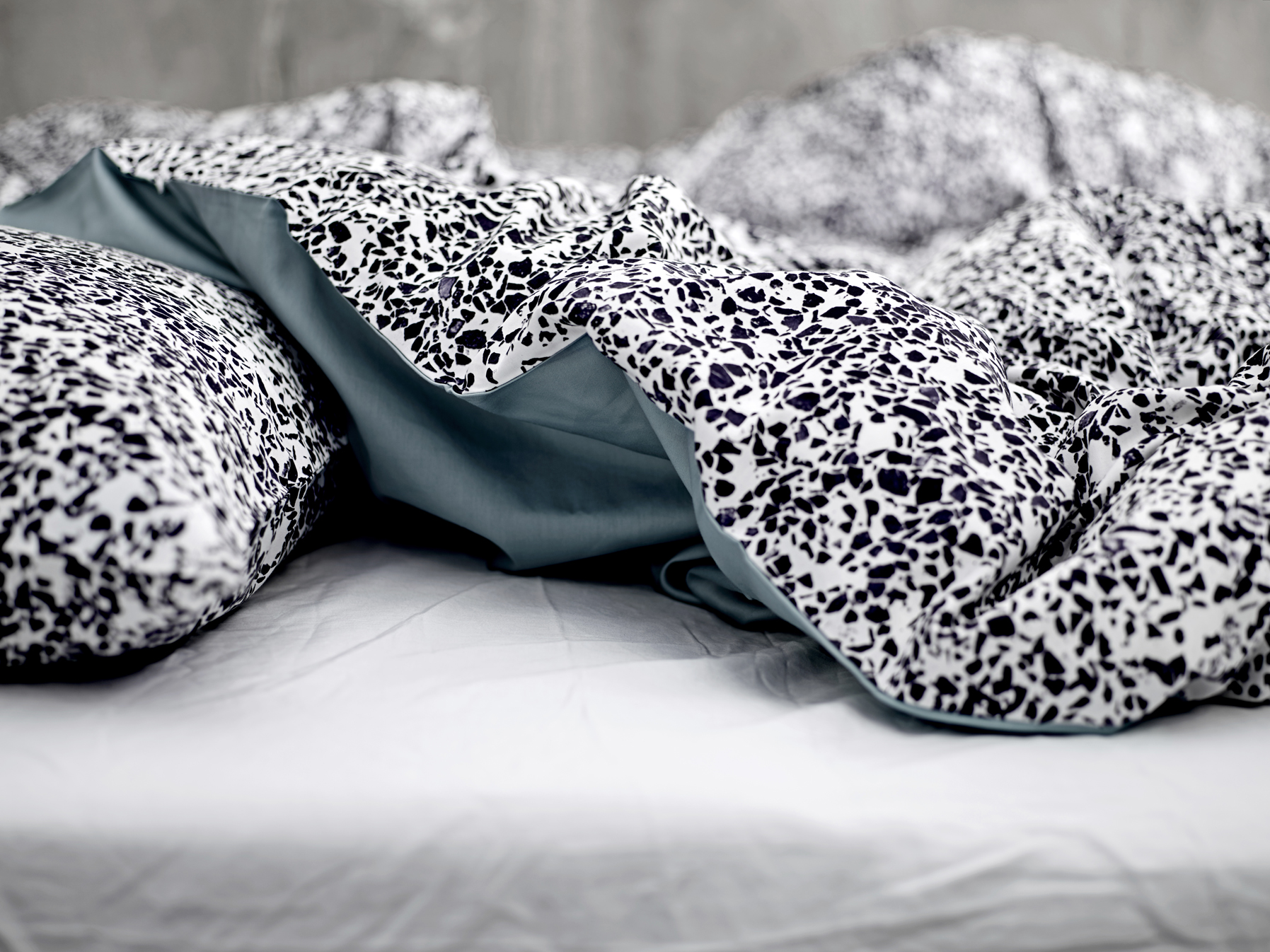 Bedding with Hagedornhagens' photography. This series is called 'Design Rock' from Södahl