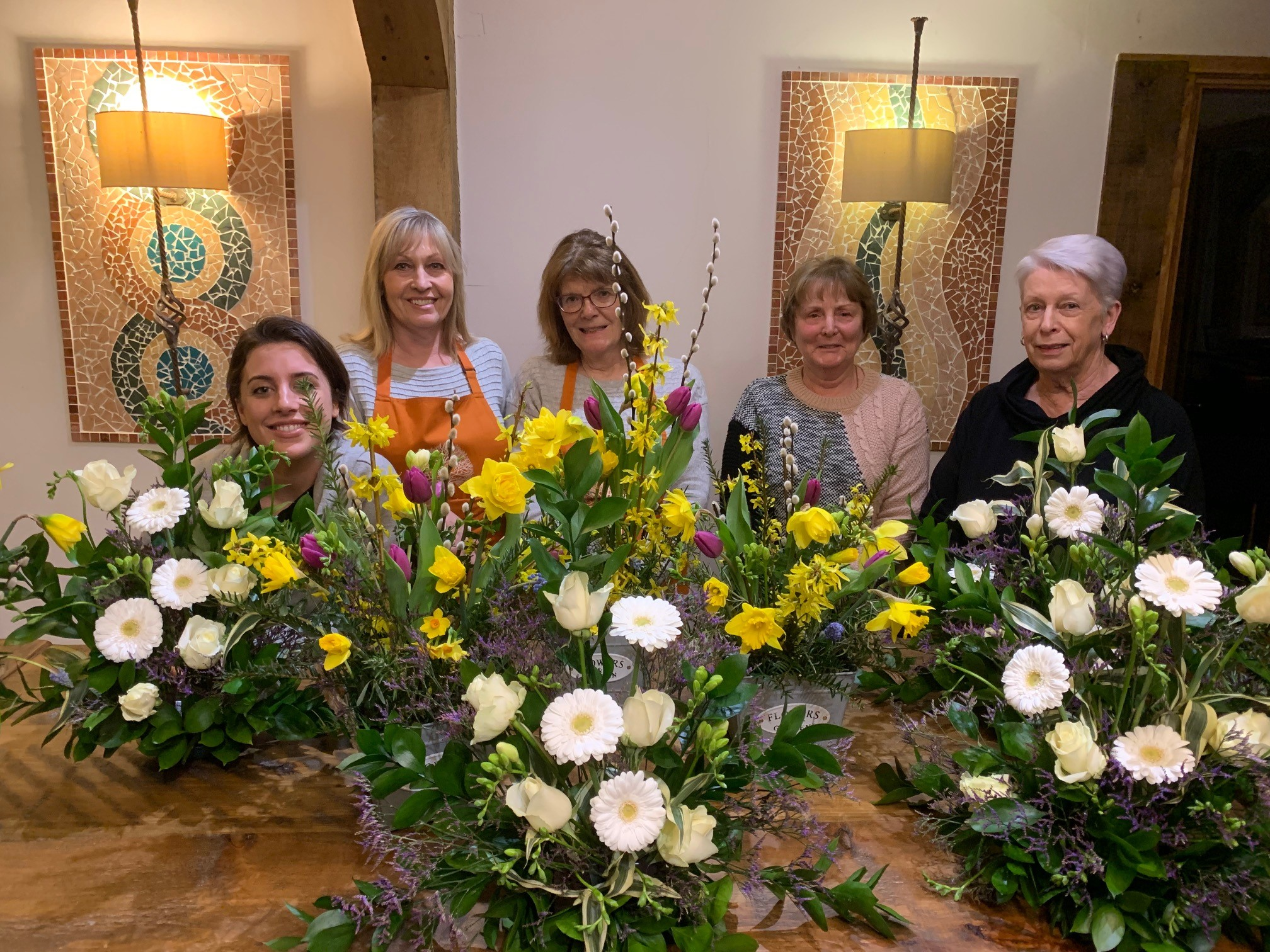 5 week Floristry Beginners at The Lodge Flower and Craft School March 2019.jpg