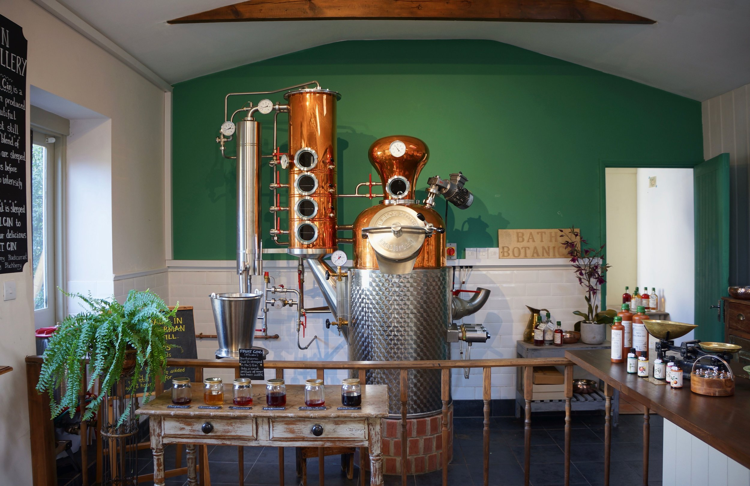 Bath Botanical Gin Distillery & Herbal Apothecary -